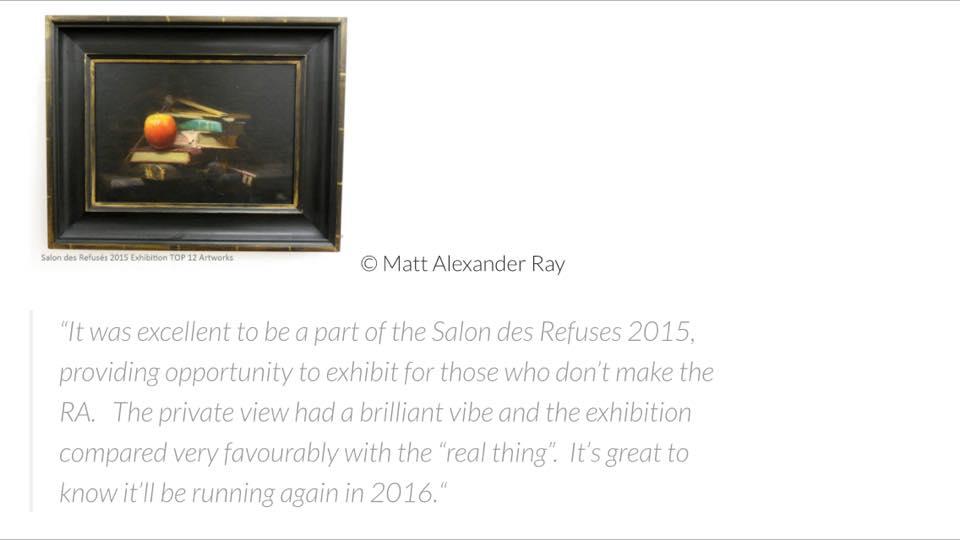 Testimonials - Matt Alexander Ray