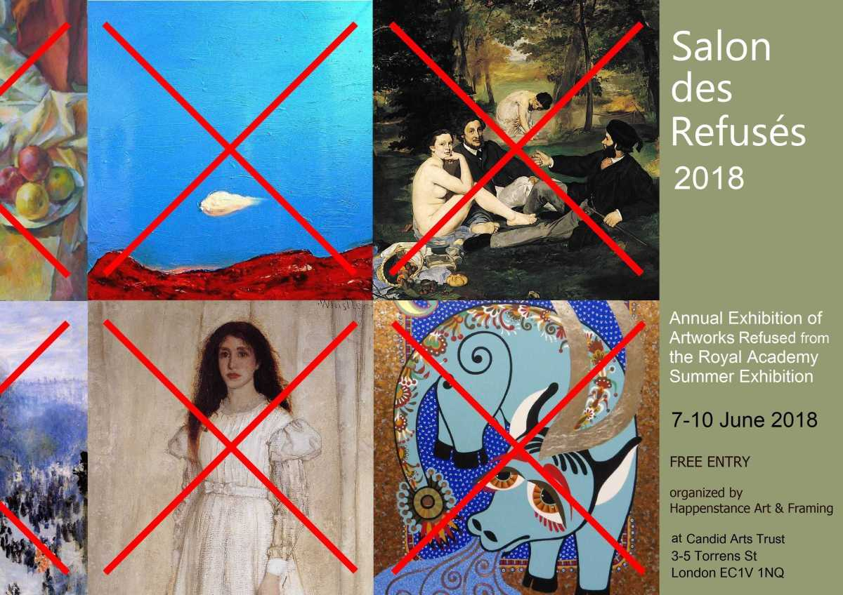 Salon des Refuses 2018 Invitation