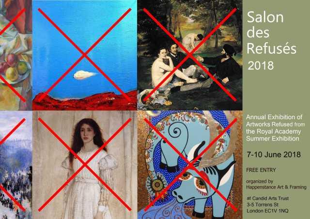 Salon des Refuses 2018 Invitation