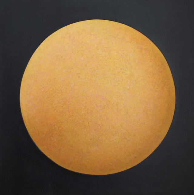 04 - Matthew Watson - Sol, 63x63cm, Painted Convex Jesmonite Panel, 2019
