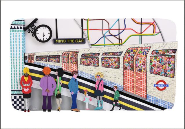 05 - Karen Krige - The Colourful Rush,  100x60cm, mixed media, 2019.png