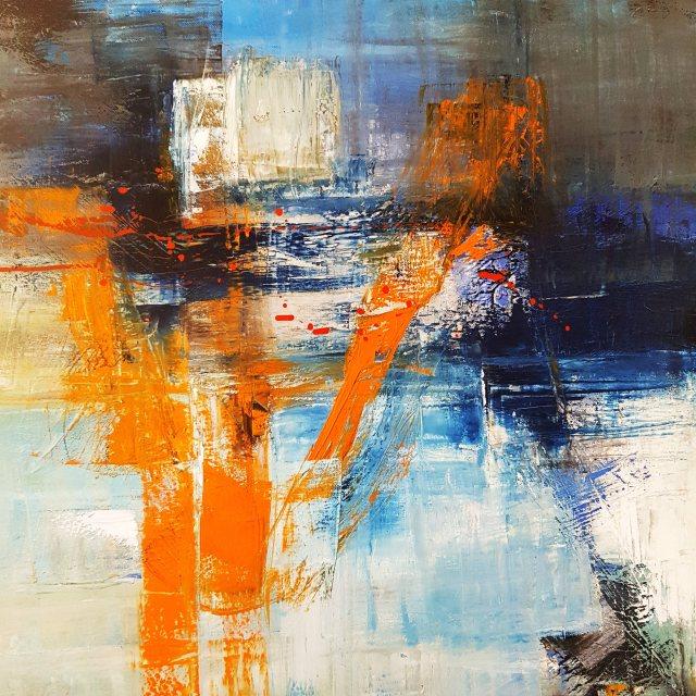 09 - Marina Emphietzi - 1 - Plastic Oceans, Oils on canvas, 60 x 60 cm, 00181
