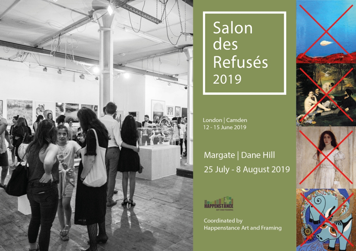 Margate - Salon des Refuses exhibition invitation 2019